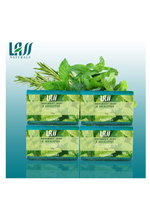 Lass naturals Rosemary Mint Eucalyptus soap - 4 pc Set