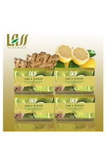 Lass naturals Lime & Ginger Soap - 4 pc Set