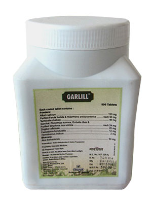 Charak Garlill Tablets