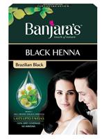 Banjaras Black Henna Brazilian Black (Sachet)
