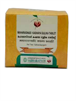 Vaidyaratnam Maharasnadi Kashaya Gulika Tablet