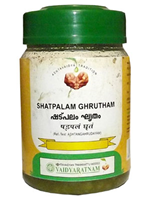 Vaidyaratnam Shatpalam Ghrutham