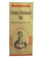 Baidyanath Trailokya Chintamani Ras (SMAY)