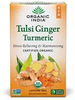 Oragani India Tulsi Ginger Turmeric