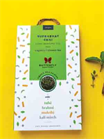 Butterfly Ayurveda Subprabhat Chai(Green tea+Tulsi)