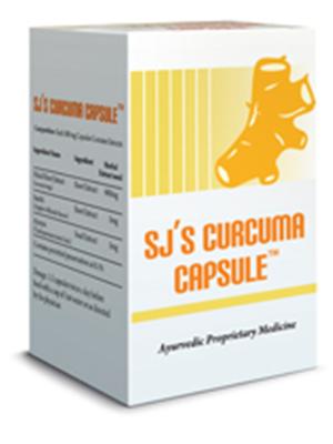 SJ Herbals SJ'S Curcuma Capsule Pack Of 2