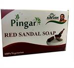 Aayush Pingara Red Sandal Soap