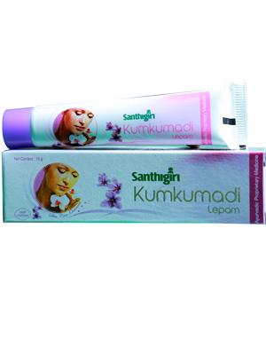 Santhigiri Kumkumadi lepam