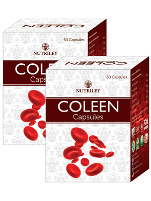 CRD Ayurveda Coleen - Iron Supplement Capsules