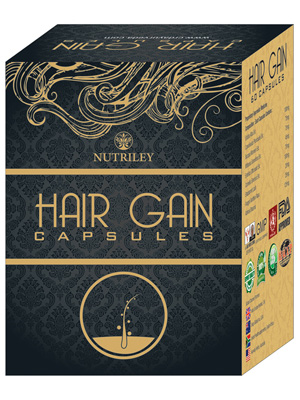 CRD Ayurveda Hair Gain - Hair Regeneration Capsules