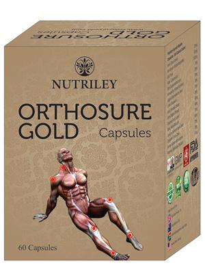 CRD Ayurveda Orthosure Gold  - Joint Pain / Arthritis Capsules