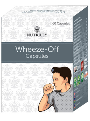 CRD Ayurveda Wheeze-Off -  Cough and Cold Care Capsules