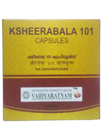 Vaidyaratnam Ksheerabala 101 Softgel Capsule