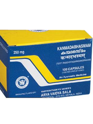 Kottakkal Kanmada Bhasmam Capsules