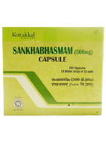 Kottakkal Sankha Bhasmam Capsules