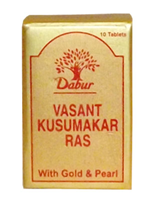 Dabur Vasant Kusumakar Ras Gold