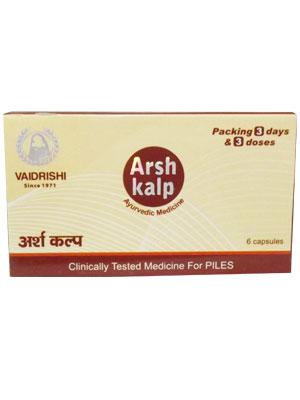 Arsh Kalp Capsules Combi Pack
