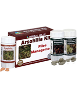 Herbal Hills Arsohills Kit (Arsohills Triphalahills Guggulhills)