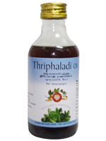 AVP Triphaladi Oil