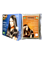Siri Herbal Hair Dye Powder Natural Black + Henna Powder (Combo Pack)