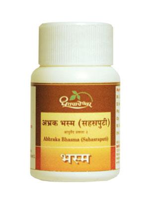 Dhootapapeshwar Abhrak Bhasma (Sahasraputi)