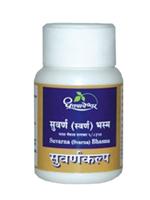 Dhootapapeshwar Suvarna (Svarna) Bhasma