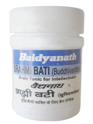 Baidyanath Brahmi Bati (Buddhivardhak)