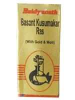 Baidyanath Basantakusmakar Ras (SMAY)