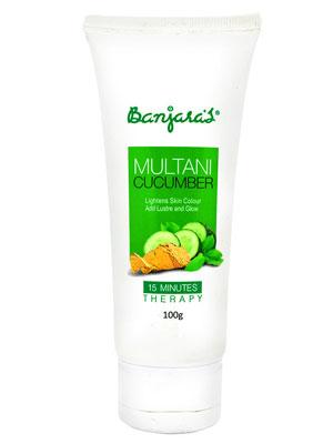 Banjaras Multani Cucumber 15 Minutes Therapy