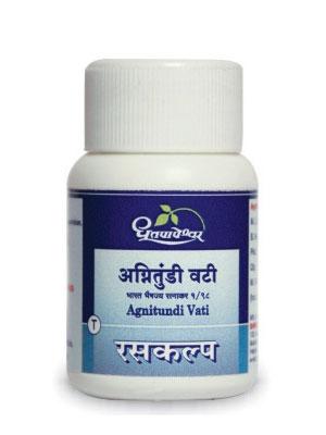 Dhootapapeshwar Agnitundi Vati (Tablets)