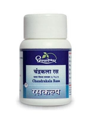 Dhootapapeshwar Chandrakala Rasa