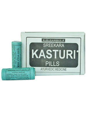BV Pandit Srikara Kasthuri Pills