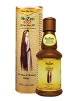 Nuzen Gold Hair Oil