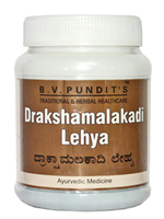BV Pandit Drakshamalkadi Lehya