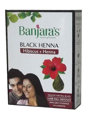 Banjaras Black Henna With Hibiscus