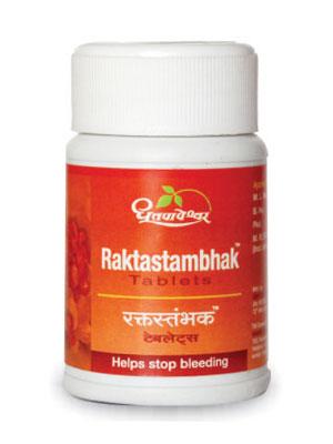 Dhootapapeshwar Raktastambhak Tablets